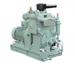Vertical automatic control unit for marine low pressure air compressor