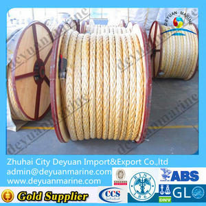 Nylon rope/Mooring rope for winch/boat