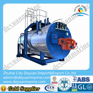 Small Type 6T/H Portable Marine Hot Oil Boiler oil fired steam boiler For Sale