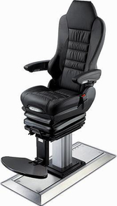 Marine Recoil Spring Pilot Chair