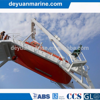 Electric Davit for Free Fall Lifeboat