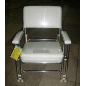 Portable Type Stainless Steel Wave Resistance Marine Pilot Chair