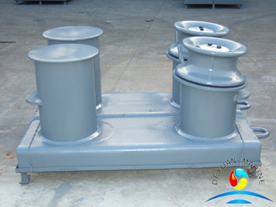 Marine Use Ship Use Welded Inclined Bollard GB T556-65