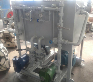 Hydraulic System For Davit And Crane