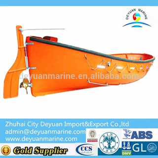 Open Type FRP Life Boat With CCS EC BV ABS RINA Certificate