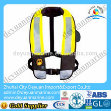 275N SOLAS Approved Inflatable Life Jacket