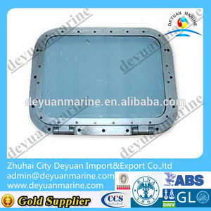 High Quality Marine Aluminium Rectangular Fireproof Windows with ABS,BV certificate