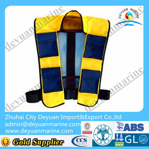 150N Marine Inflatable Life Jacket for sale