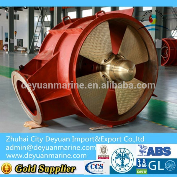 Marine Fixed Pitched Propeller Bow Thruster / Tunnel Thruster