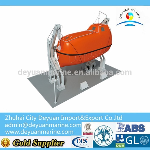 Gravity Davit For Boats