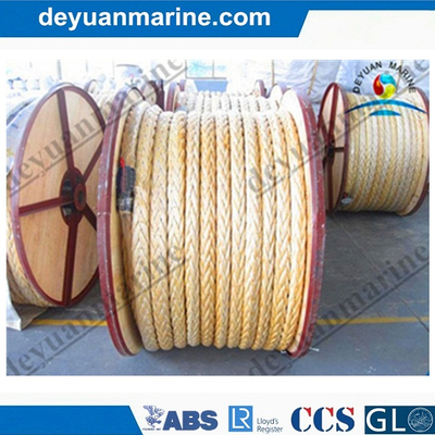 Marine Use High Breaking Load Winch Nylon Rope Making Machine Moring Rope