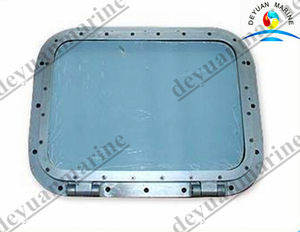 Marine Steel Fixed Rectangular Window for Wheel House