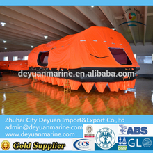 125 Person Throw-over Self-Righting Inflatable Liferaft