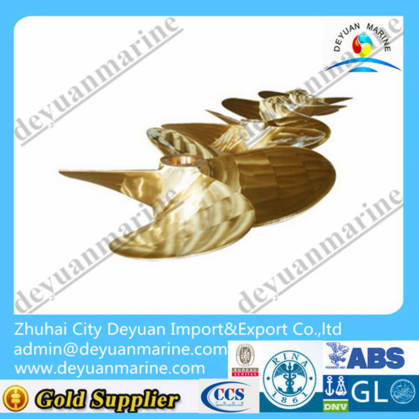 Small size Cu3 thruster propeller blade for sale