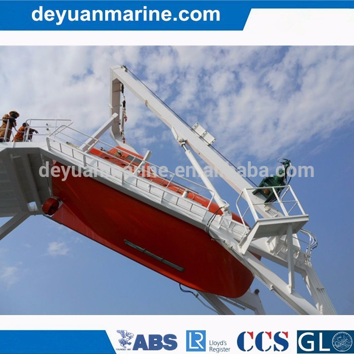 75KN Davit For Free Fall Lifeboat