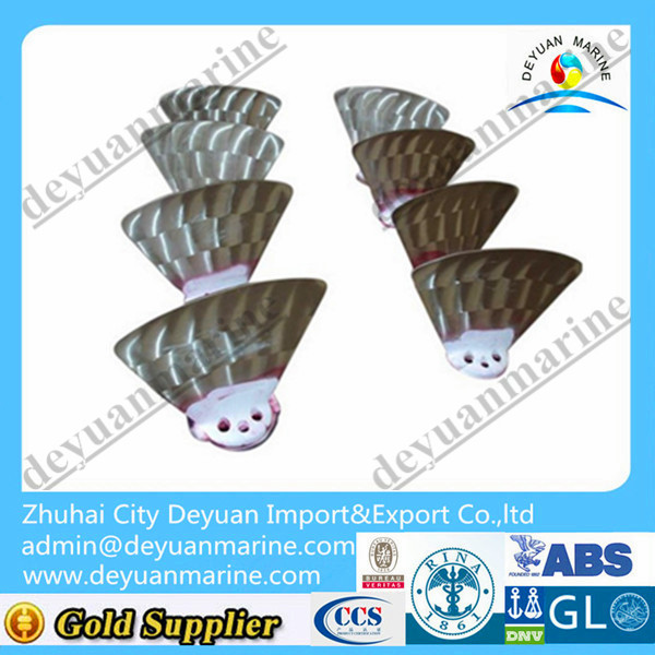 Ship Bronze Propeller Blade for Bow Thruster