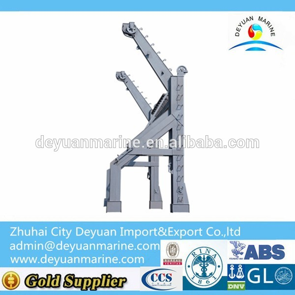 Inverted Arm Gravity Davit for Sale