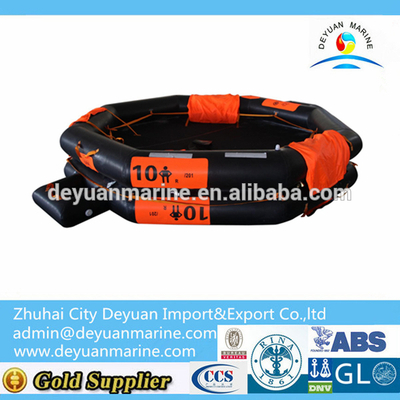 10 Man Open-Reversible Inflatable Liferaft