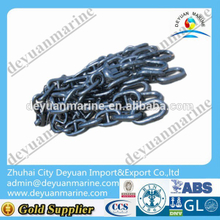 Hot sale studlink marine anchor chain metal steel large anchor chain