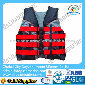 Manual Inflatable Nylon/Waterproof Life Jacket