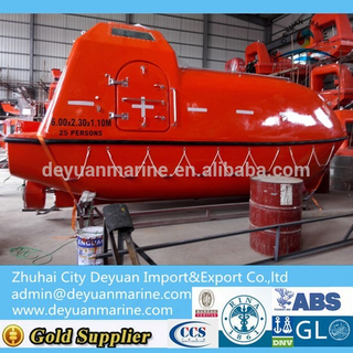 Totally Enclosed Life Boat With DNV,ABS,RINA Certificate