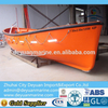 Open Type Lifeboat With Stainless Steel Hook System