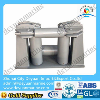 DIN type roller fairlead flexible bollard fairlead roller fairlead stainless steel fairlead