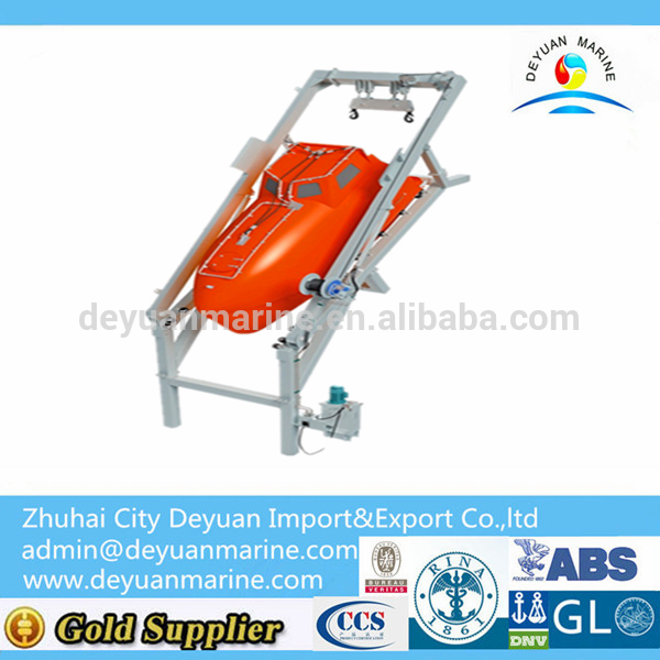 Hot Sale!!! 55KN-70KN Free-Fall Life Boat Launching Appliance