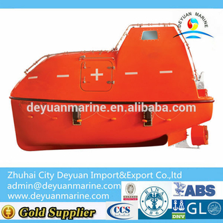 25 Persons Marine Totally Enclosed Lifeboat For Sale