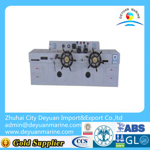 Fork-type hydraulic steering gear for double rudder