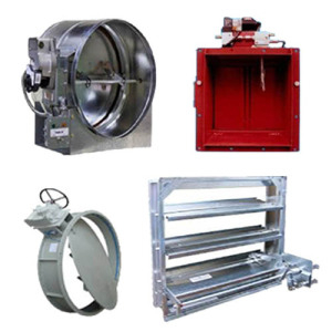 Marine Rectangular Manual Fire Damper