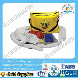 Universal oil spill absorbing boom for spill containment