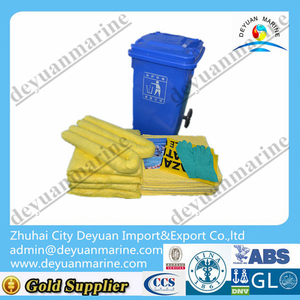 2016 Marine Used Hazchem Spill Kits with Yellow/white Color for Sale