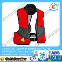 275N Adult Vest Type Marine inflatable life jacket