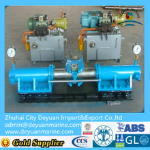 Hydraulic steering gear for marine