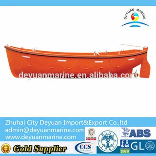 Smaller Cheap Fiberglass Open Type Life boat Prices