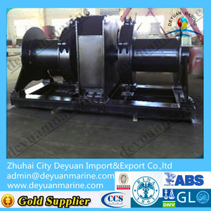 Marine 27T Explosion-proof Electric Double Drum Winch