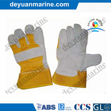 Cow Leather Industrial Safety Gloves