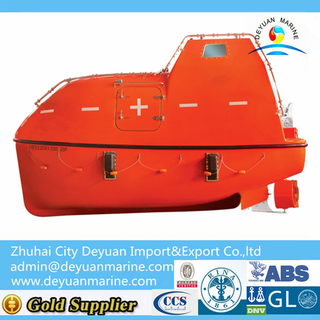 Fire Proofing Type GRP Totally Enclosed Lifeboat Rescue Boat