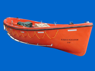 Fiber Glass Open Type Lifeboat GRP Open Lifeboats Fast Rescue Boat with Competitive Price