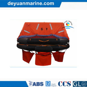 6 Person Throw-Overboard Inflatable Liferaft