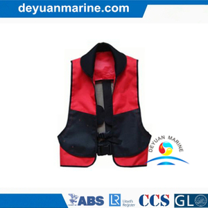Dy703 Marine Inflatable Life Jacket