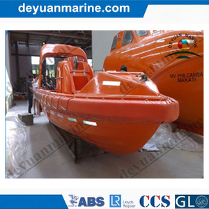 FRP Solas Rescue Boat with CCS BV ABS Approved