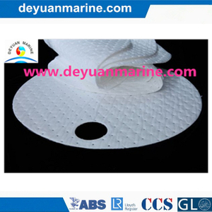 100% PP White Oil Absorbent Pad/Dimpled Oil Absorbent Pads